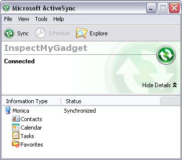 Activesync